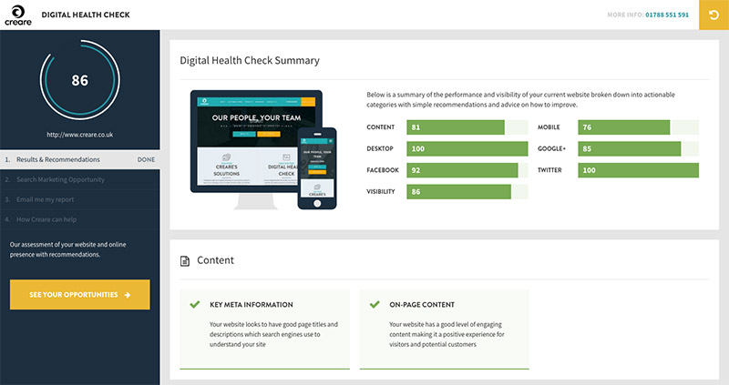 Digital Healthchecker