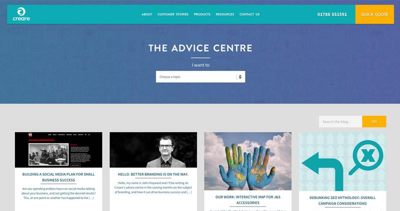 Creare Advice Centre