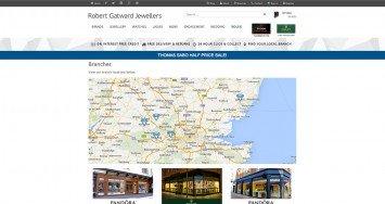 Robert Gatward Jewellers Branches