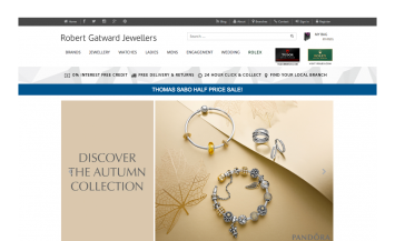 Robert Gatward Jewellers iPad