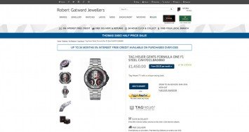 Robert Gatward Jewellers Product Page