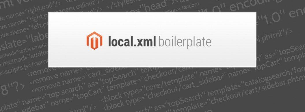 magento local xml boilerplate