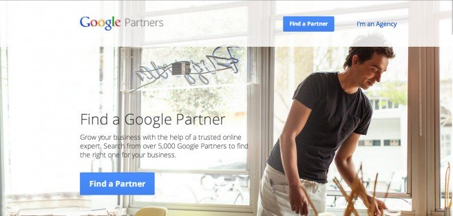 The Google Partners Homepage