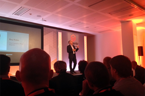 Roy Rubin talks Magento at his third Magento UK conference