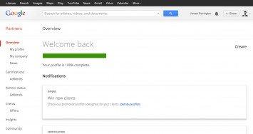 Google Partners Dashboard
