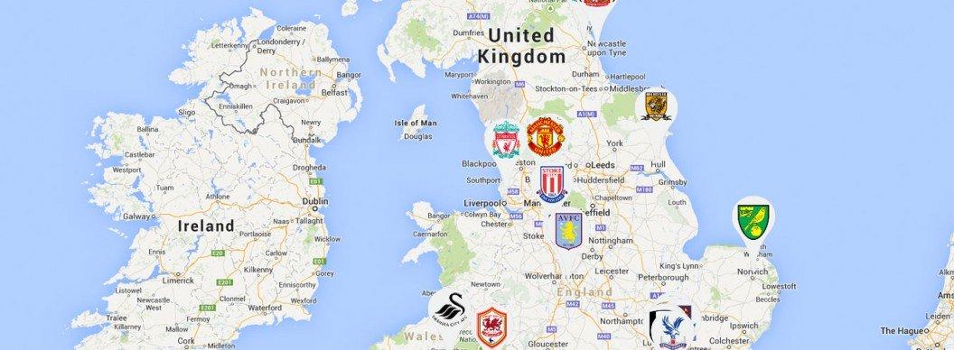 Map Of England Google.Loading Google Map Markers Via Xml