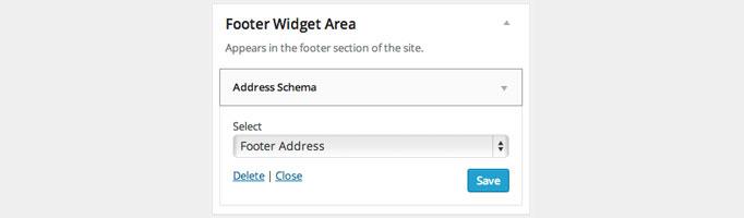Simple Address Widgets