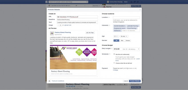 Plan your Facebook advertising properly