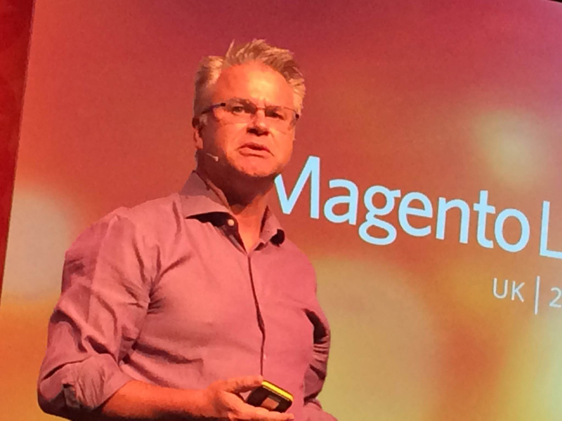 Steve Denton hosted the entire event and delivered the first talk.