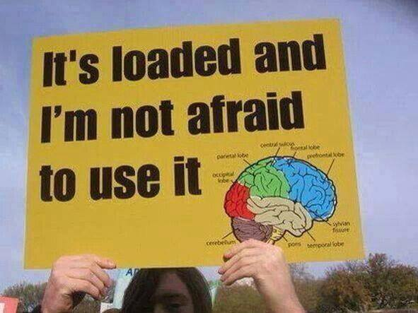 Its Loaded Not Afraid to Use it