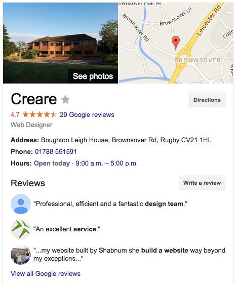 Creare Google Place