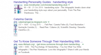 pen image search result
