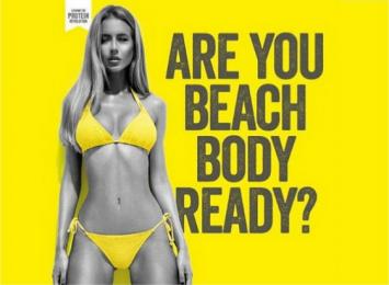 Beach Body Ready Ad