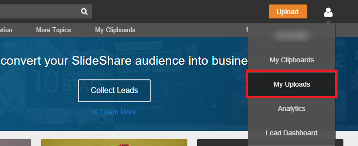 how to check where your slideshare is embedded