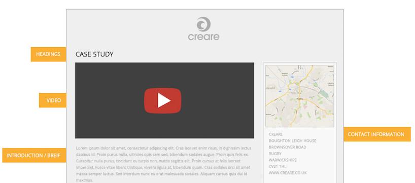 How to create a top notch case study creare for Creare case