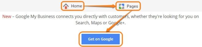 Get on Google