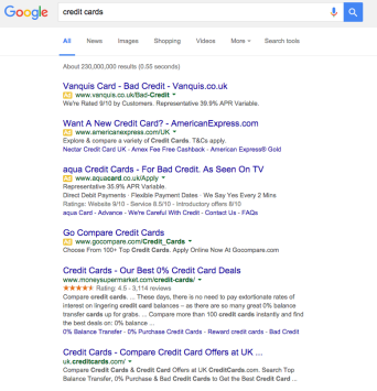 4 PPC Ads At Top